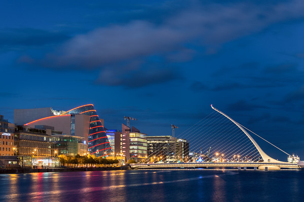 Samuel Beckett Bridge - Dublin, Ireland - August 18, 2017