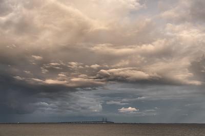 Øresundsbron - Dragør, Denmark - August 16, 2021