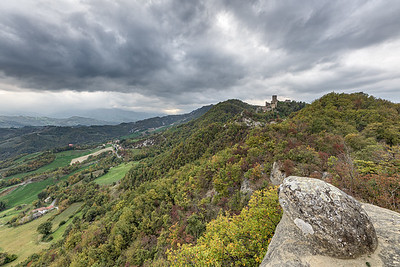 Castello delle Carpinete - Carpineti, Reggio Emilia, Italy - October 20, 2019