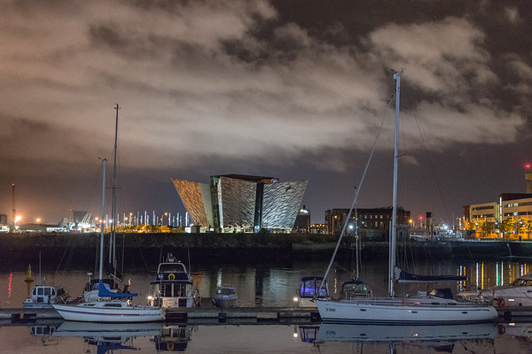 Titanic Belfast - Belfast, Northern Ireland, UK - August 13, 2017