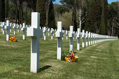 Florence American Cemetery and Memorial - San Casciano Val di Pesa, Florence, Italy - April 3, 2015