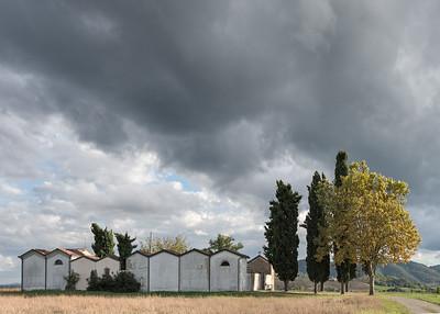 Cemetery - Casola Querciola, Viano, Reggio Emilia, Italy - September 23, 2015