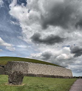 Newgrange (Brú na Bóinne) - Glebe, County Meath, Ireland - August 8, 2017