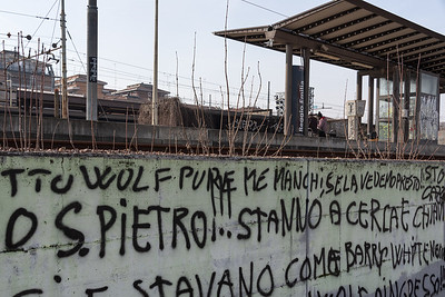 Graffiti - Reggio Emilia, Italy - February 9, 2019