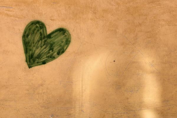 Green Heart - Via Dante Alighieri, Reggio Emilia, Italy - December 26, 2016