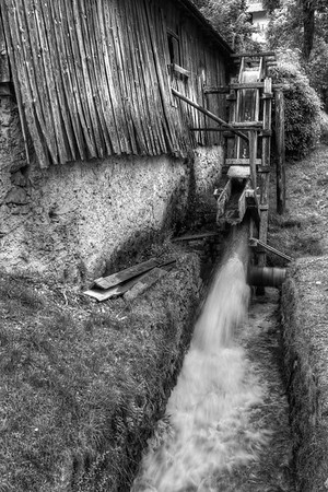 Old Sawmill - Molveno, Trento, Italy - August 10, 2012