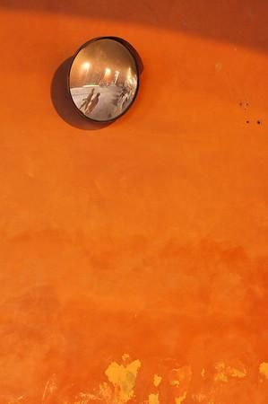 Mirror - Via Farini, Reggio Emilia, Italy - July 14, 2010
