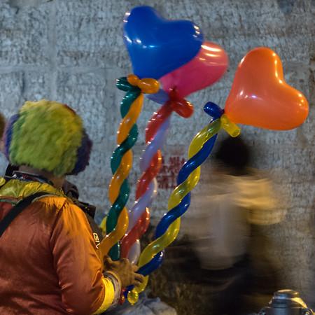 Balloons - Trento, Italy - December 6, 2015
