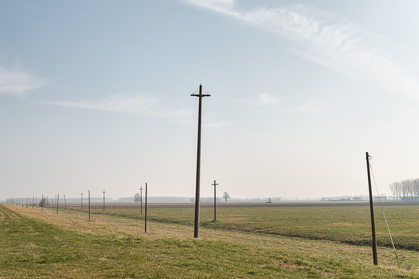 Power (with no) Lines - Guastalla, Reggio Emilia, Italy - February 15, 2020