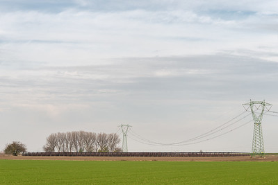 Power Lines - Crevalcore, Bologna, Italy - November 30, 2018