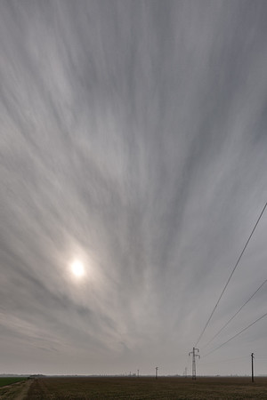 Power Lines - Crevalcore, Bologna, Italy - March 1, 2019