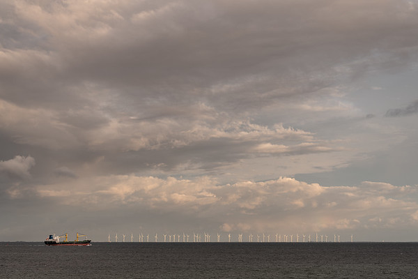 Wind Turbines - Dragør, Denmark - August 16, 2021