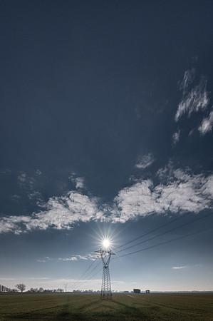 Power Lines - Crevalcore, Bologna, Italy - January 10, 2020