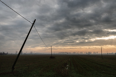 Power Lines - Novellara, Reggio Emilia, Italy - December 15, 2019