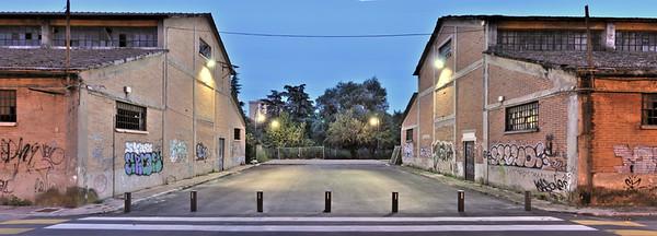 Abandoned Buildings - Reggio Emilia, Italy - September 14, 2010