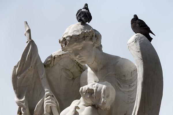 Monumentio ai Caduti - Volterra, Pisa Italy - March 25, 2016