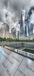 9/11 Memorial - New York, NY, USA - August 19, 2015