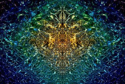 Crystal Blue Mandala