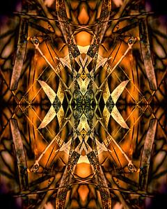 Golden Keys Mandala