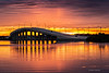 Merritt Island Bridge, Sunset