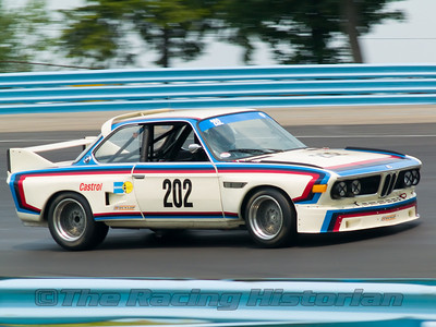 A 1973 BMW CSL at the 2007 HSR Watkins Glen Historic Races.