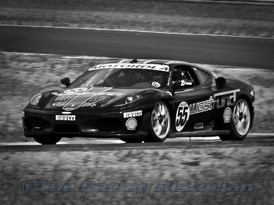 Level 5 Motorsports (Scott Tucker and Ed Zabinski) Ferrari F430 during the 2008 Rolex Sportscar Series at Thunderbolt Raceway (NJ Motorsports Park)
