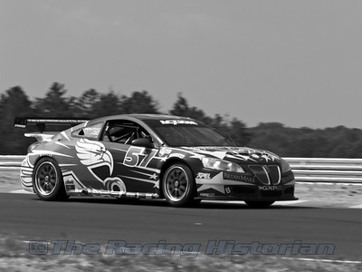 Stevenson Motorsports Pontiac GXP.R (Robin Liddell and Andrew Davis) at the 2008 Rolex Sports Car Series race at Thunderbolt Raceway (NJ Motorsports Park)