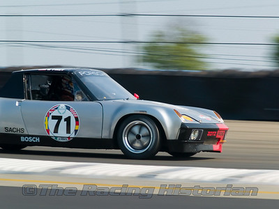 A Porsche 914/6 GT at the 2007 HSR Watkins Glen Historic Races.