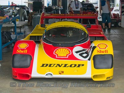 1987 Porsche 962-C at the 2007 HSR Watkins Glen Historic Races.