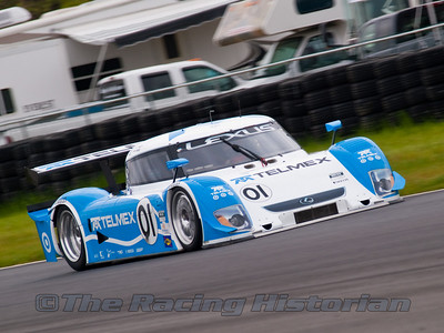 The Telmex Chip Ganassi / Felix Sabates Lexus Riley (Scott Pruett and Memo Rojas)