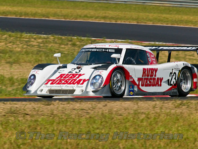Alex Job Racing Porsche Riley (Bill Auberlen and Joey Hand) at the 2008 Rolex Grand-Am at Thunderbolt Raceway (NJ Motorsports Park)
