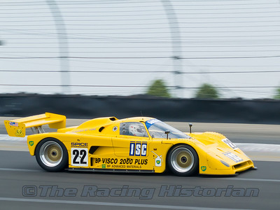1989 Spice SE89C at the 2007 HSR Historic Races at Watkins Glen.
