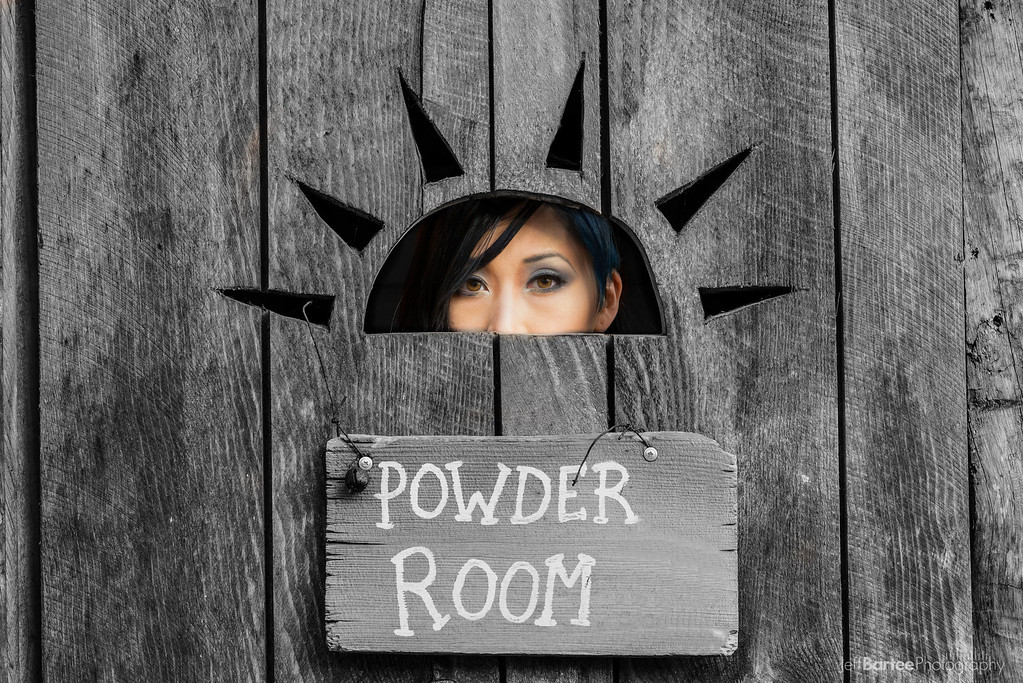4 treatments of the powder room
