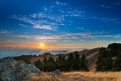 Bolinas Ridge Sunset