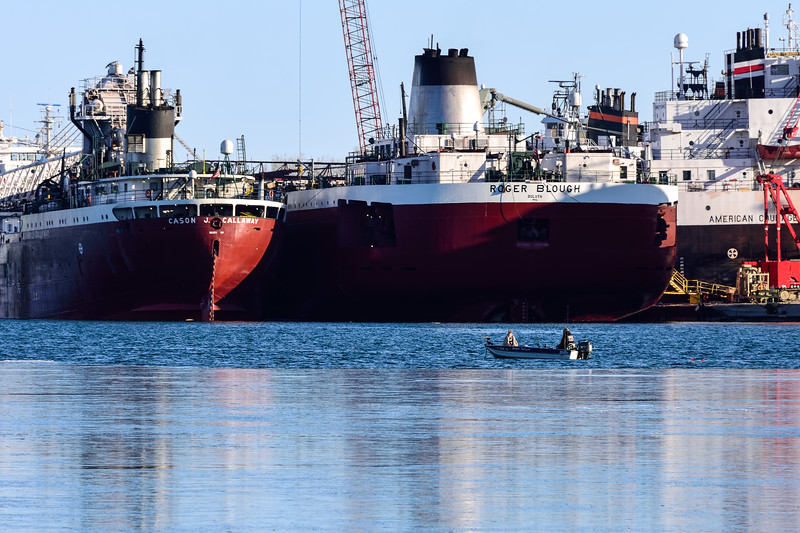 Roger Blough at Bay Shipbuilding 01