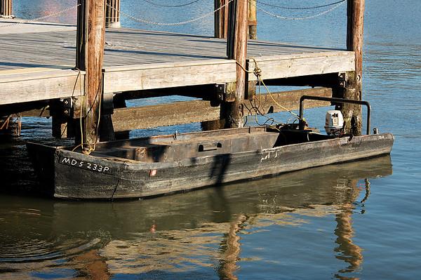 Brokedown dinghy