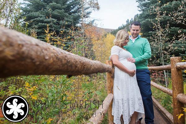 Beaver Creek Maternity Photos - Marnie and John