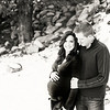 Maternity photos taken at Riverwalk in Edwards, CO in early winter.