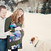Family pregnancy photos in Eagle Vail, Colorado.