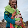 Outdoor maternity photography in Eagle, Colorado.