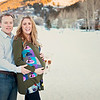 Pregnancy portrait in Eagle Vail, Colorado.