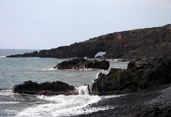 Pokowai Sea Arch - Southeast island region