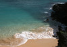 Upon the Pu'u Ola'i cinder cone - down to the extreme north end of Oneloa Beach - Makena State Park - South Maui region
