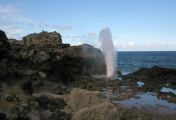 Nakalele Blowhole - West Maui region