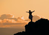 Lele Kawa (cliff diving) - at Pu'u Keka'a (Black Rock) - the western most point of the island - to recognize the spirits of the dead - West Maui region