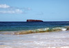 From the waves breaking upon Oneloa Beach - South Island region - out about 2.5 mi. (4 km), to the crescent shaped Molokini Crater - in the Alalakeiki Channel