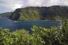 From Moiki Point - across the Honomanu Bay - to Kalaloa Point - and Nua'ailua Bay beyond - Northeast island region