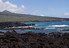 From the lava field upon Cape Kina'u - across La Perouse Bay - up to the Pimoe ciner cone - South Maui region