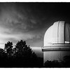 Storm Over the Harlan J. Smith 107-Inch Telescope
