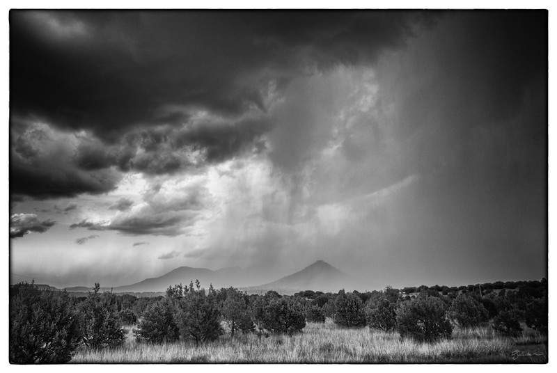 Summer Storm over the Davis Mountains